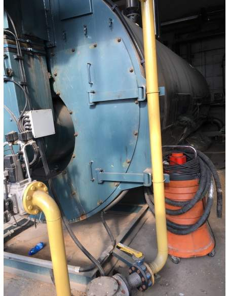 Steam boiler 8 tons Melgari  - 11