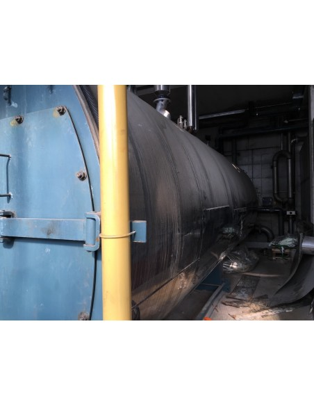 Steam boiler 8 tons Melgari  - 12