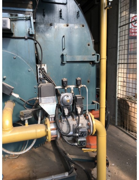 Steam boiler 8 tons Melgari  - 28
