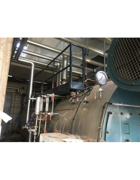 Steam boiler 8 tons Melgari  - 33