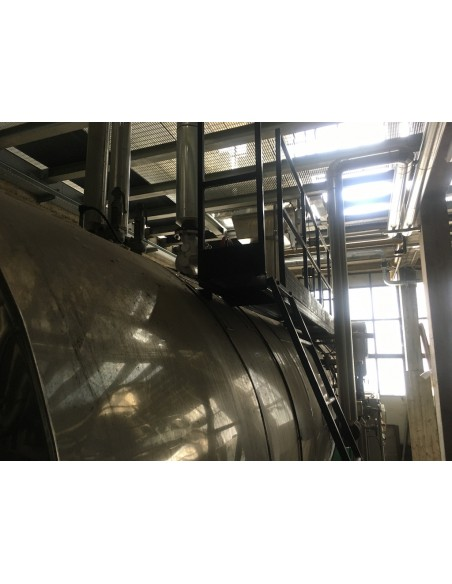 Steam boiler 8 tons Melgari  - 36