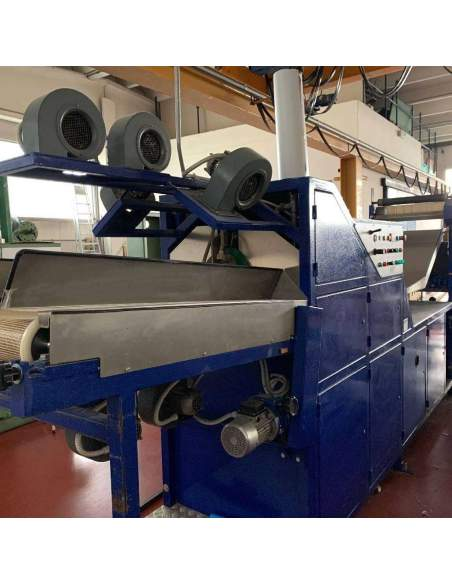 Crushing machine for fabrics KMT