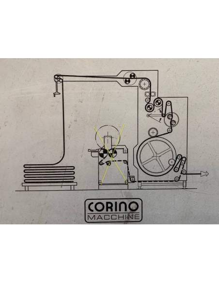 copy of Corino Normatex pin wheels weft straightener Corino - 2