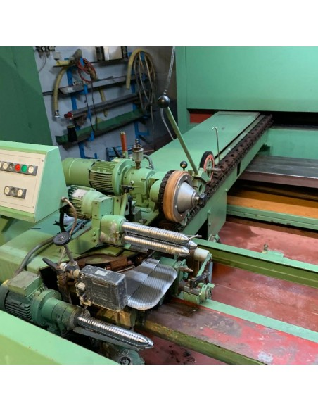 Krantz single layer stenter with coating head Krantz - 24