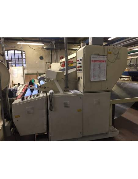 Used Nonstop and packing machine Tecnoteam ww 4000 mm  - 6