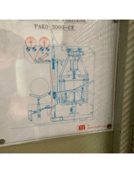 Incelofanatrice automatica LA MECCANICA PAKO 3000 usata  - 16