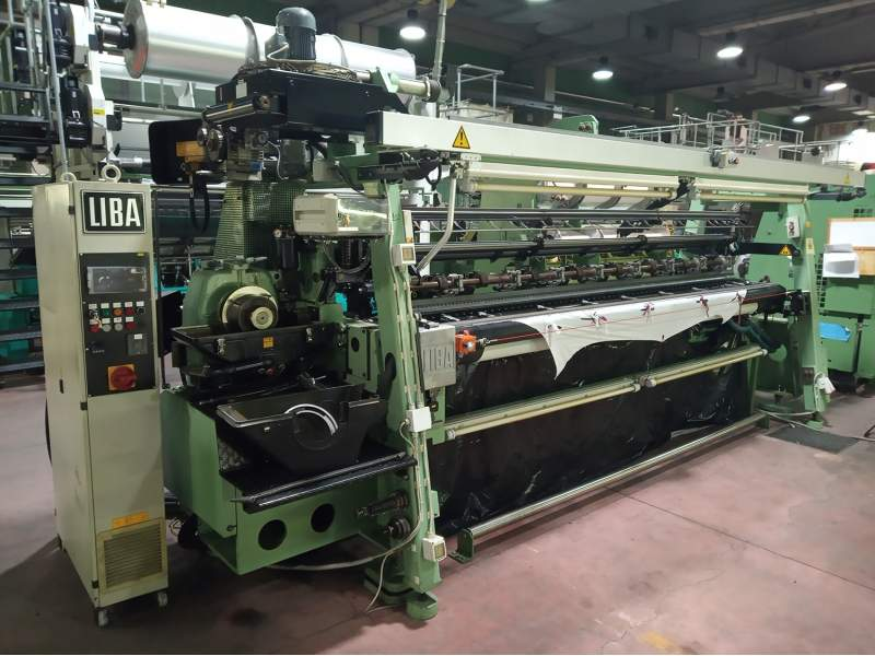 Used Warp knitting machines Liba Copcentra  - 1