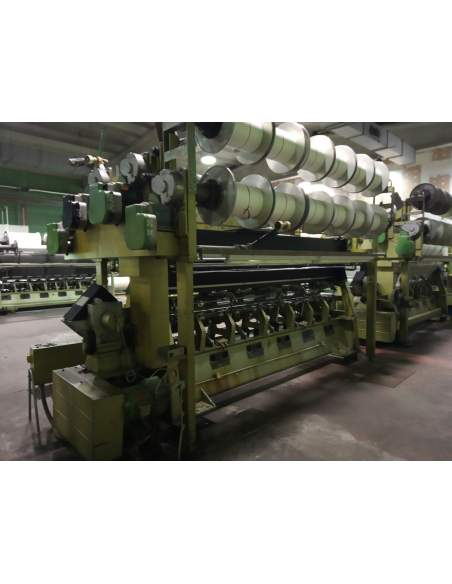 Used Warp knitting machines Karl Mayer 1982  - 1