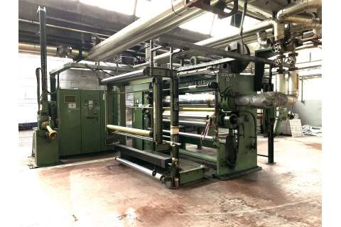 Used Kusters calender 2 rolls