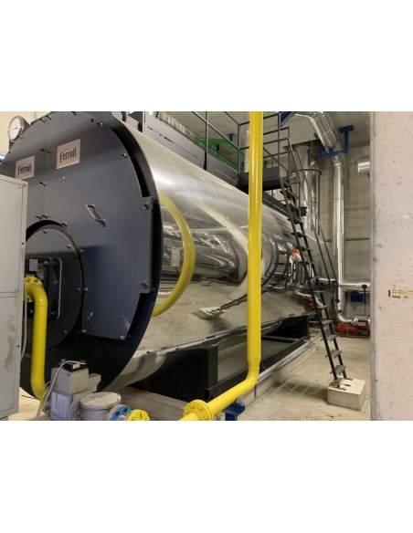 Boiler Ferroli hot water 7,5 MW