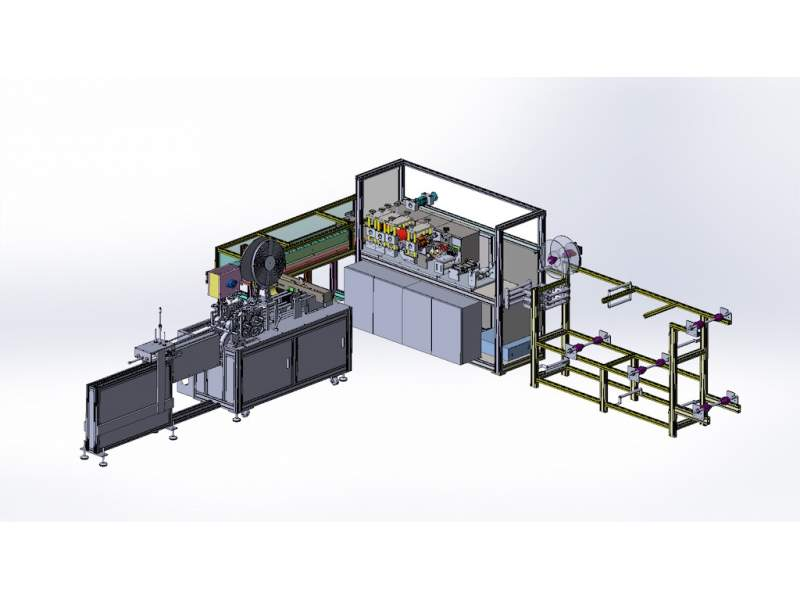 T-MASK4 Automatic machine production...