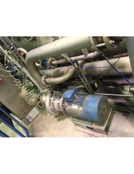Jet Dyeing machine Thies 2 ropes