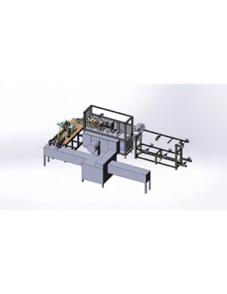 T-MASK3 Automatic machine / plant for the production of surgical masks Adults and Kids
