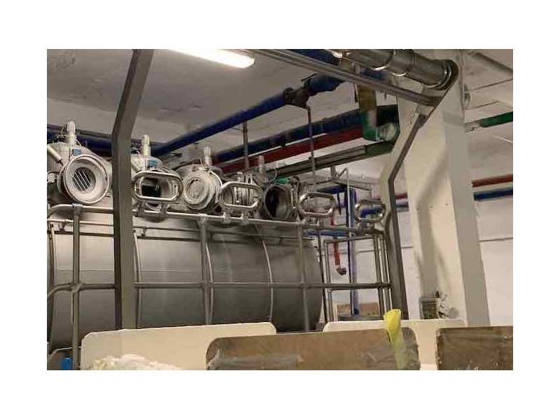 Air dyeing machine Thies 4 ropes