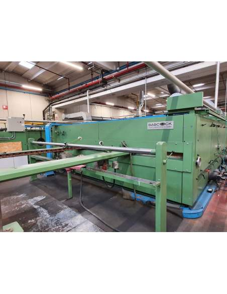 Stenter Babcock 5 chambers wide ww 3600mm