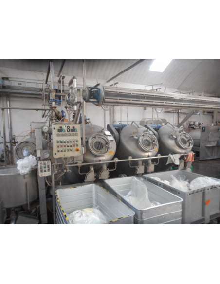 Jet Dyeing machine Thies TRD XL 3 tubes, 6 ropes