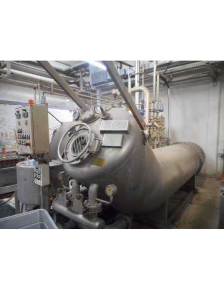 Jet Dyeing machine Thies TRD XL 1 tube, 2 ropes
