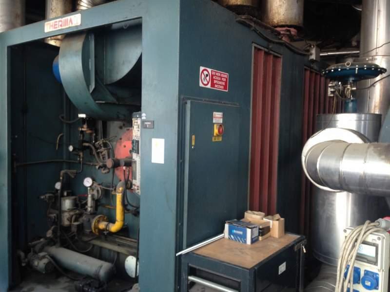 Bruciatore caldaia a gas for Caldaia biomassa usata