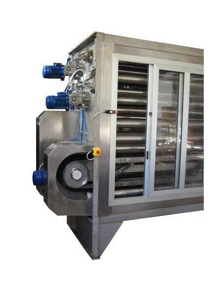 New wet brushing machines for wet corduroy brushing process Carù - 2