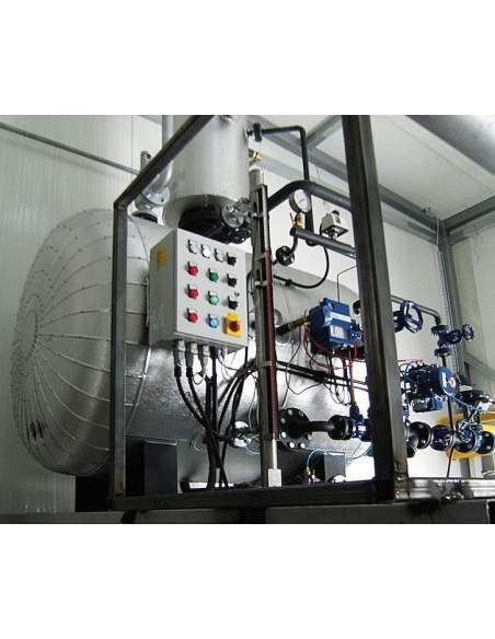 Degasatore termofisico, modello DETE