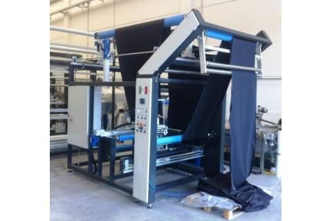 Impianto per cucitura a sacco modello T-DP-24S BREVETTATO adatto per tessuti a maglia e trama-ordito