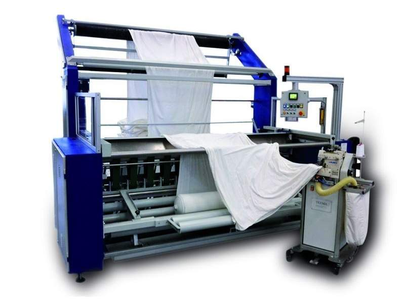 T-AT New preparation machine able to unwinding roll and sewing in the same time Texma srl - 1