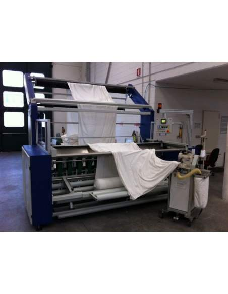 T-AT New preparation machine able to unwinding roll and sewing in the same time Texma srl - 3