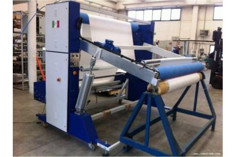 T-SV-AR A-frame winder machine for the preparation of the fabrics in big roll