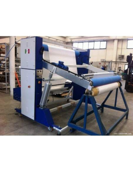 T-SV-AR A-frame winder machine for the preparation of the fabrics in big roll Texma srl - 1