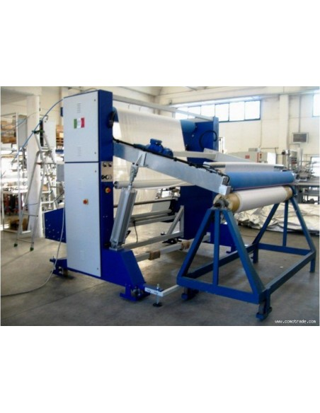 T-SV-AR A-frame winder machine for the preparation of the fabrics in big roll Texma srl - 2