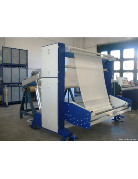 T-SV-AR A-frame winder machine for the preparation of the fabrics in big roll Texma srl - 3