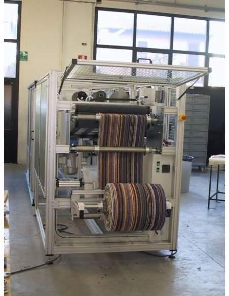 T4L - Linea automatica per taglio e bordatura tappeti sui 4 lati Texma srl - 2