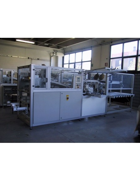 T4L - Linea automatica per taglio e bordatura tappeti sui 4 lati Texma srl - 4