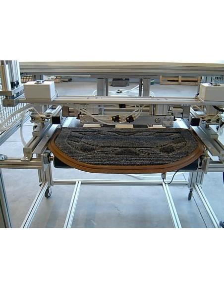 T4L - Linea automatica per taglio e bordatura tappeti sui 4 lati Texma srl - 7