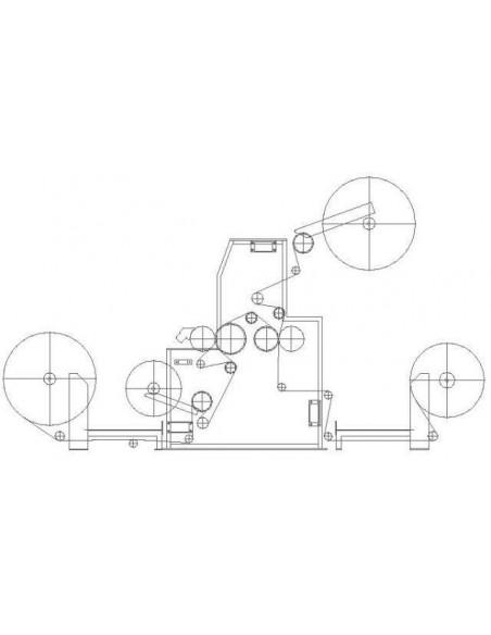 Testa di resinatura e accoppiamento Hotmelt modello PUR-4 F.lli Zappa - 4