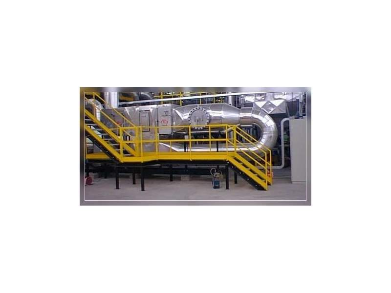 Depurazione fumi inquinati da V.O.C. con sistema ionizzazione e ossidazione catalitica a bassa temperatura HRS Interconsult - 1