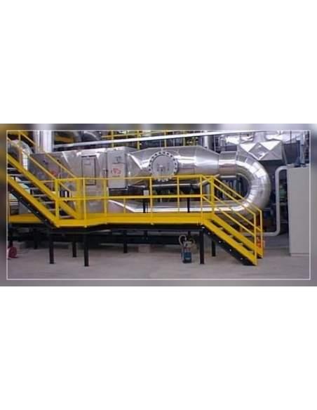 Depurazione fumi inquinati da V.O.C. con sistema ionizzazione e ossidazione catalitica a bassa temperatura
