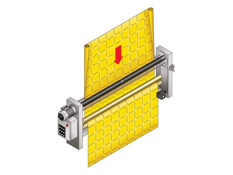 K-20 COMBISYSTEM doppio allargatore con sensore FLC Corino