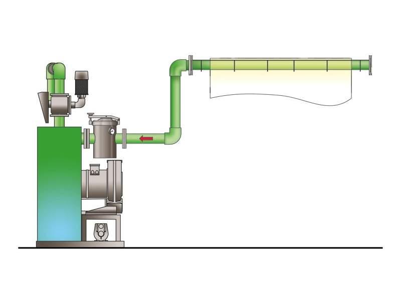 VACUUM DE-WATERING Corino