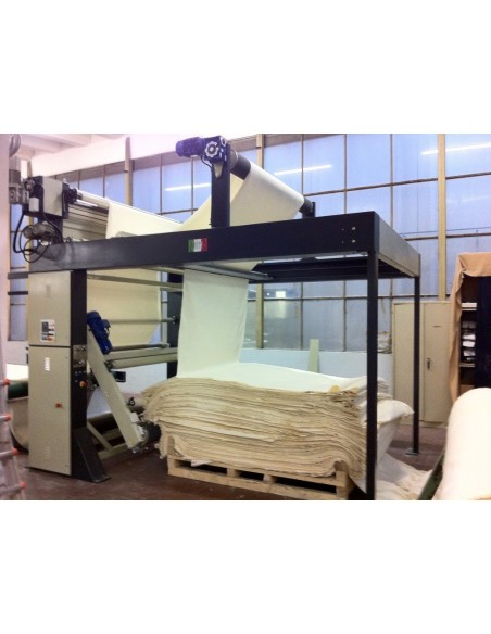 Video greige fabrics preparation sewing line