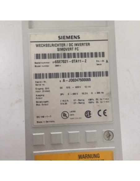 Inverter Siemens SIMOVERT Masterdrive