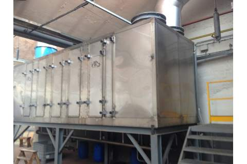 Air water heat recovery system HRS Interconsult