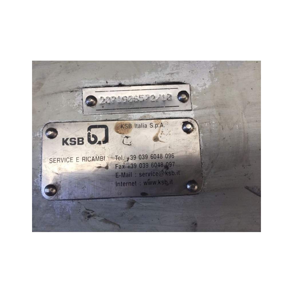 used Oil pumps KSB for boilers, oil industrial boiler KSB for sale