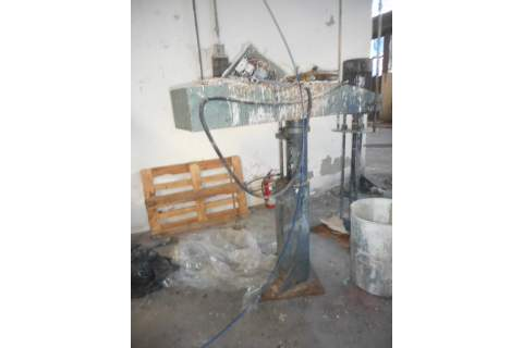 Mixer for paste