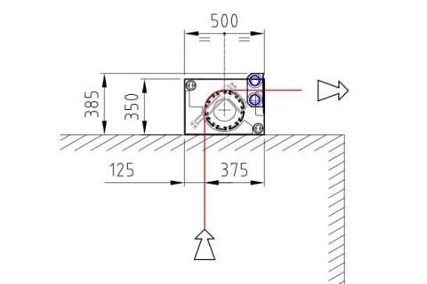 Bianco Dogal 03 centratore a doghe per la centratura e la distensione del tessuto