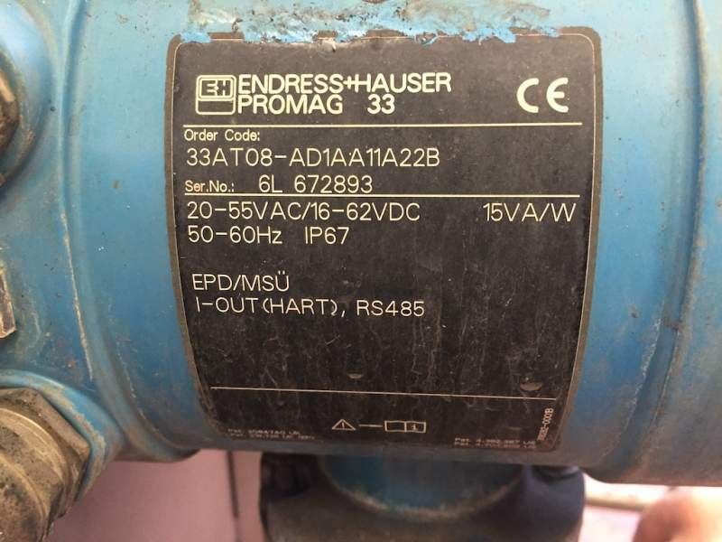 Endress+Hauser Flussimetro elettromagnatico