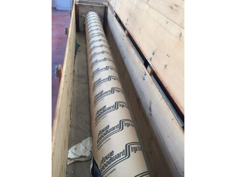 Kusters spare rolls 3400mm S-roll