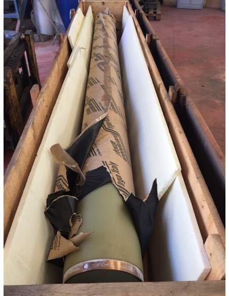 Coppia cilindri foulard kusters altezza tavola 3400mm