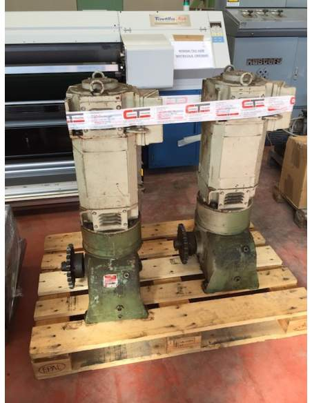 Electric motor and gearbox AEG