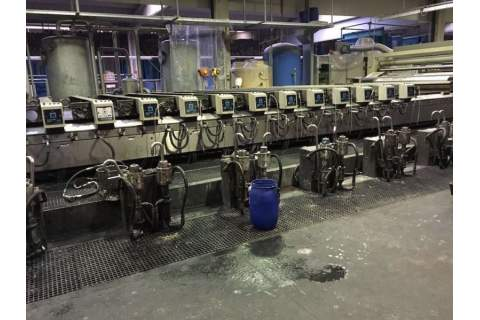 Rotative screen machine Reggiani
